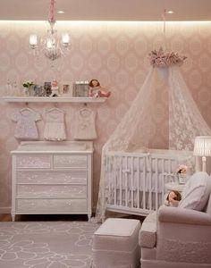 Decoração Richilieu para Quarto de Bebê, Decoração de Quarto Infantil | Vanessa Guimarães