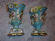 Antique Pair Of Coalport Vases Condition: Excellent circa 1835