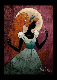 Thumbelina by Mimi mimiclothing] 〖 Thumbelina Don Bluth 1994 movie film 〗 Non Disney Princesses, Disney Princess Art, Disney Fan Art, Walt Disney, Disney Magic, Disney And More, Disney Love, Disney And Dreamworks, Disney Pixar