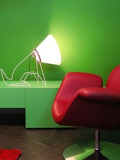 Now this is a cute light.  Direct Light table lamp BRONCO   by @Odesi. Dutch Design Online Dutch Design Online
