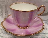 Vintage ENGLISH  ELIZABETHAN Fine Bone China Tea Cup & Saucer