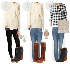 The Ultimate Winter Wardrobe-9 Outfits from 13 Pieces!