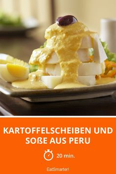 Kartoffelscheiben und Soße aus Peru - smarter - Zeit: 20 Min.   eatsmarter.de