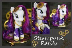 Steampunk Rarity 02 by ~bluepaws21 on deviantART