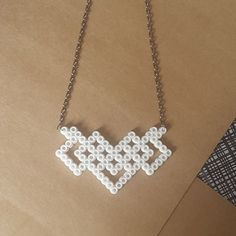 Necklace hama beads by handmadelovealex