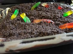 I was very suprised that this recipe wasnt posted yet. This is by far the best dirt cake out there. Great for all occassions. Cooking time is refridgeration time.