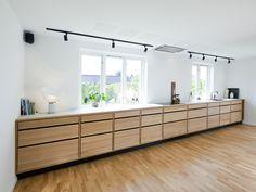 Home Decor Kitchen, Interior Design Kitchen, Kitchen Furniture, New Kitchen, Home Kitchens, Furniture Design, Küchen Design, House Design, Simple House