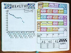 I can't believe that I've found the perfect list of bullet journal ideas that'll help me keep track of my weight, diet, and exercise. I absolutely love these bullet journal ideas! Bullet Journal Workout, Bullet Journal Planner, Bullet Journal Hacks, Fitness Journal, Bullet Journal Layout, Bullet Journal Inspiration, Bullet Journals, Life Planner, Bullet Journal Weight Loss Tracker