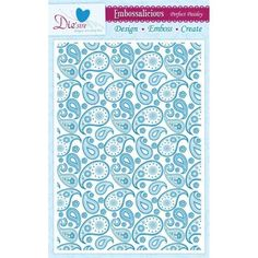 Crafter's Companion Perfect Paisley - A4 Embossalicious Embossing Folder Pre-Order