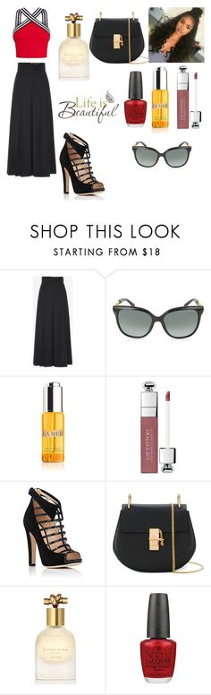 """10-17-17"" by freespirit1177 ❤ liked on Polyvore featuring Alexander McQueen, Jimmy Choo, La Mer, Christian Dior, Chloe Gosselin, Chloé, Bottega Veneta, OPI and Brewster Home Fashions"