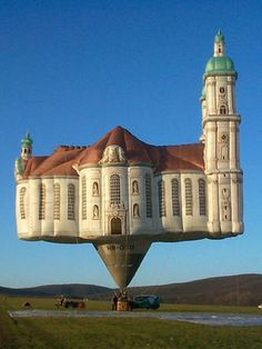Kubicek Balloons, from the Czech Republic, with the world's first flying cathedral.