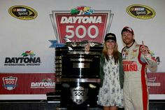 Daytona 500 2014, Jr and Amy