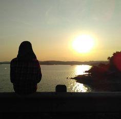 Sunset Waduk Kedung Ombo