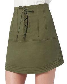 Marissa Webb Adley Canvas Skirt