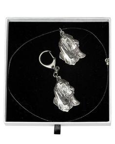 Basset Hound Dog, Casket, Jewelry Sets, Dog Lovers, Pendant Necklace, Statue, Chain, Elegant, Dogs