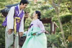 한복 Hanbok by jahong Korean Dress, Couples, Fashion, Moda, Fashion Styles, Couple, Fashion Illustrations