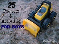 Reading Confetti: 25 Projects for Boys: Kid's Co-op