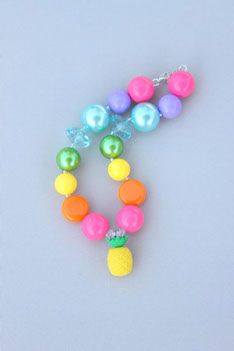 Gumball Beads - Tutti Fruitti Necklace