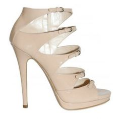 Casadei 5 buckle cutout sandals