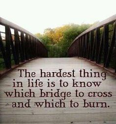 Too True, and appreciate the crossing... or the smoke