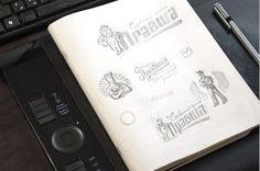 Sketch LOGO 2012 by Sergey Kovalenko, via Behance