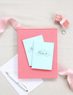 We've always said that the ceremony is the most important part of the wedding, and that your vows are the most precious detail from the day. We created our Vows