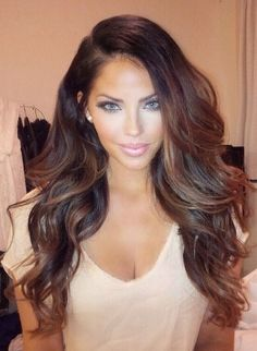 Love this hair color! Thinking of trying this!!