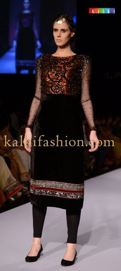 "http://www.barcode91.com/ ""Ritika by Vivek Kumar"" creating  a beautiful collection called Kirtimukha at Lakmé Fashion Week Winter Festive 2013"
