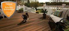 The DuraLife Difference:  Rated the top overall composite decking product by the most trusted consumer advocate publication in the U.S.