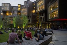 Tietgen Student Hall in Copenhagen, Denmark is an amazing university dormitory!!