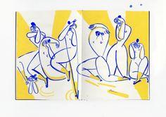 #sketchbook #illustration by Gosia Herba