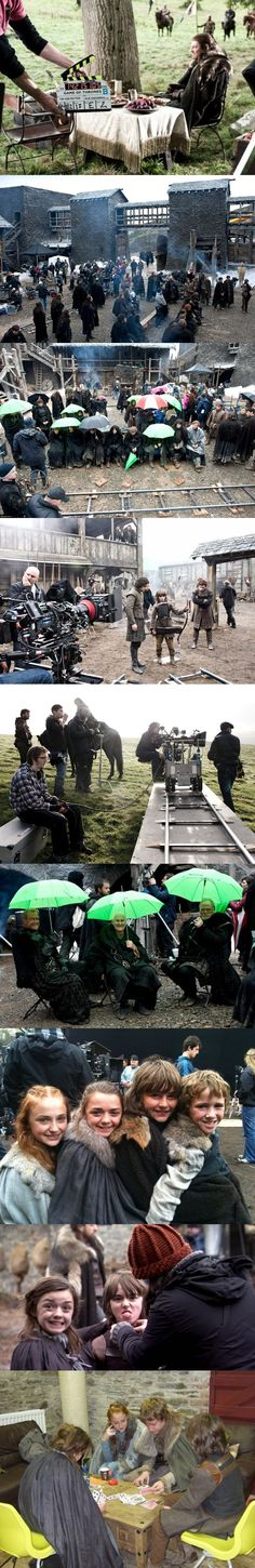 Game of Thrones, behind the scenes - Séries