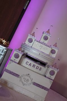 Wedding card box Castle