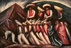 """Mexico 1900 Diego Rivera, Frida Kahlo, Jóse Clemente Orozco, and the Avant-Garde"""" at the Dallas Museum of Art Diego Rivera, Clemente Orozco, Dallas Museums, Mexican Revolution, Social Realism, Brown Pride, Family Painting, Female Soldier, Grand Palais"""