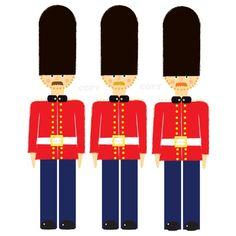 Retro Scots guard print on etsy