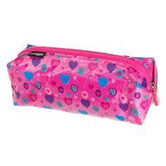 Scrunch Pencil Case from Smiggle - hearts