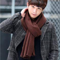 Vanled 2017 llegaban NUEVOS hombres de marca bufanda de punto bufandas de invierno primavera largo tamaño masculina más cálido