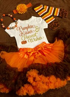 Girls Thanksgiving Outfit Thanksgiving by KeepsakeKonnections