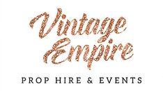 Vintage Empire Wedding & Event Prop Hire servicing from Brisbane to Byron Bay Wedding Hire, Wedding Events, Prop Hire, Gold Coast, Backdrops, Empire, City, Vintage, Gallery