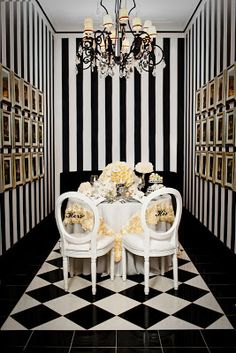 { Ask Cynthia }: Wedding Inspirations   Monochrome   Black And White  Tablescape Part 71