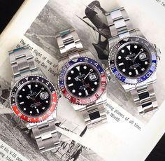 Rolex all 3 color combinations