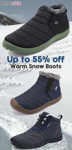 brand new c03c4 a8143 Waterproof Warm Fur Lining Outdoor Boots  winter  outdoor  travel  menswear  Winter Gear
