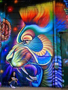 Street art in Sweden by street artist Shalak.