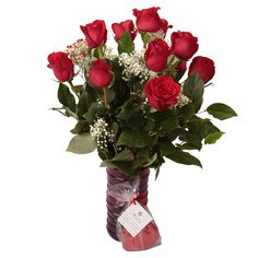The Roses are to Melt Her Heart and Melt In Your Mouth Solid Chocolate Heart will tell your Valetentine all she needs to know! Soderberg's Floral Exclusive Valentines Special