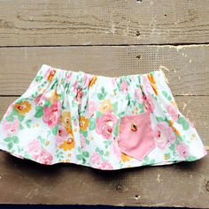 Vintage Rose Cotton Skirt by LillyBelleMarket on Etsy