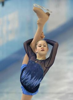 Yulia Lipnitskaya. My absolute favorite skater. She is 15, is amazingly flexible, has perfect spins and toe loops, and won olympic gold.
