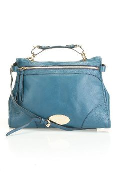 Mulberry  Taylor Satchel in Petrol