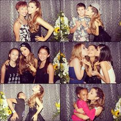 Ariana Grande On Kissing Justin Bieber