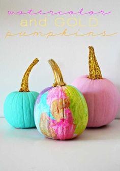 ¡Ya está aquí Halloween! Así que ha llegado el momento: ¡decora con calabazas! Y para ello, aquí te mostramos más de 30 originales ideas.
