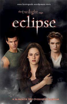 Jacob Black (Taylor Lautner), Bella Swan (Kristen Stewart) & Edward Cullen (Robert Pattinson) - The Twilight Saga: Eclipse